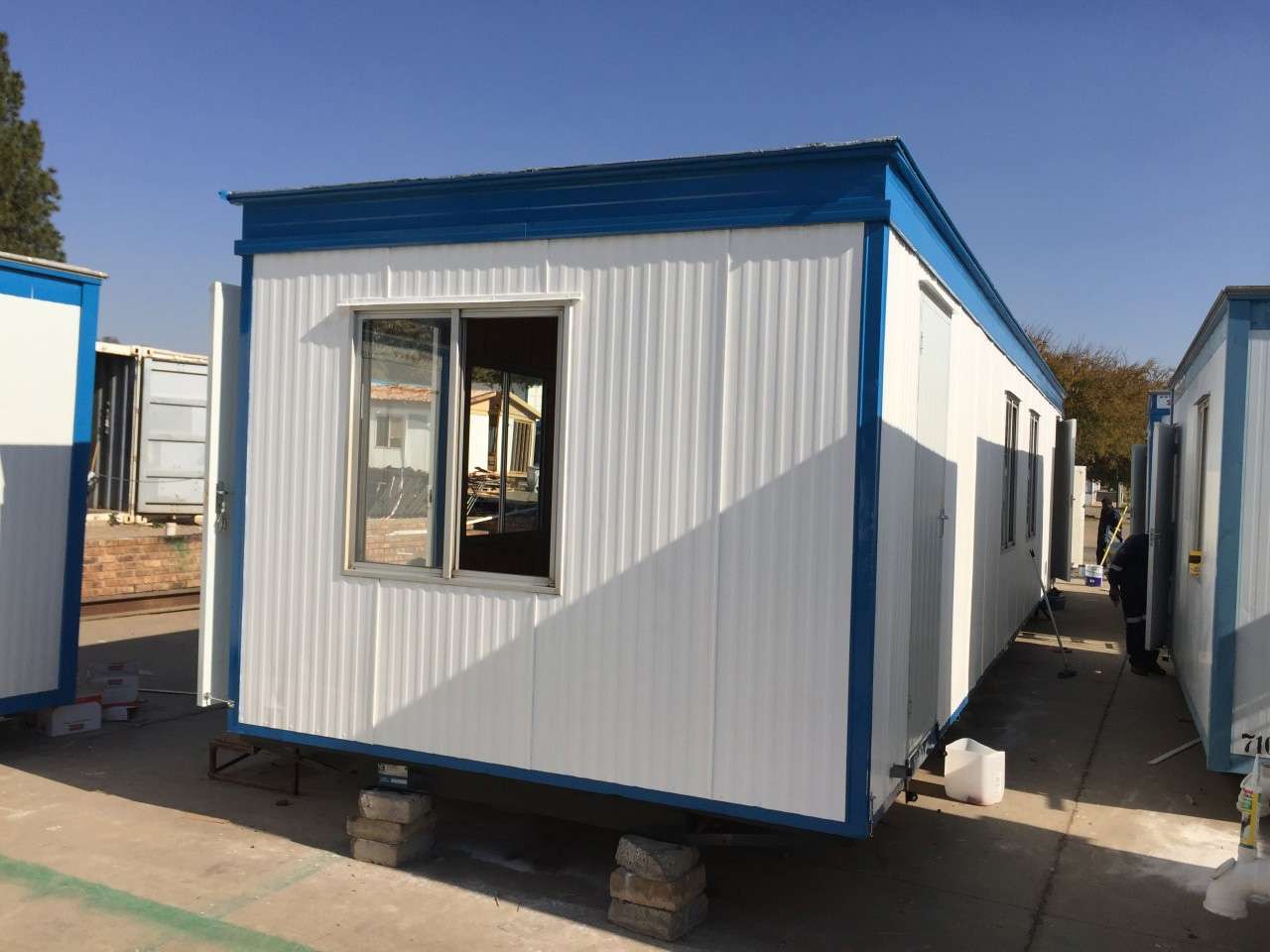 Second Hand Prefabricated Units Modular Building Refurbishment