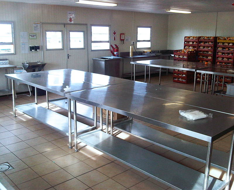 Speedcook Prefab Mobile Site Kitchens, Prefabricated Cafeteria, Prefabricated Mobile Kitchen