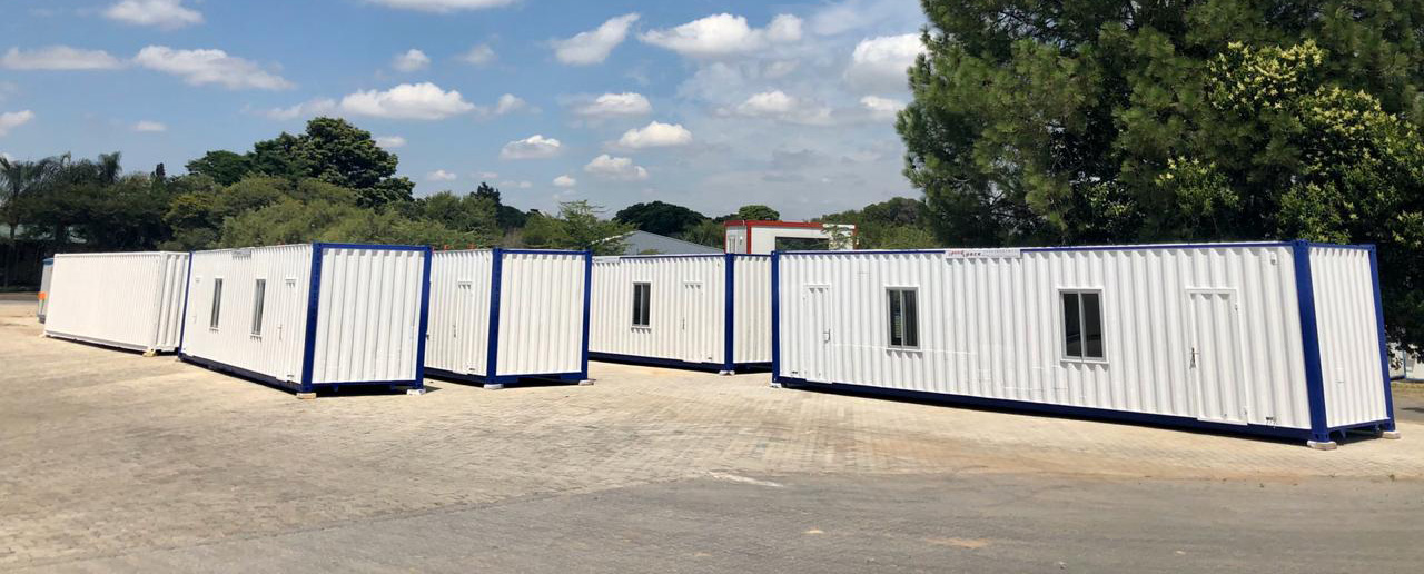 Converted Container Offices