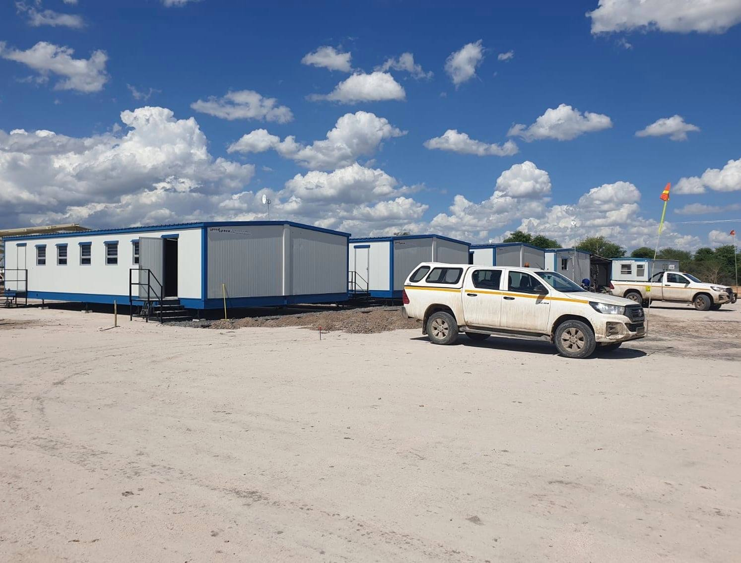 Speedspace Hands Over Two Remote Site Camps In The North Of Mozambique