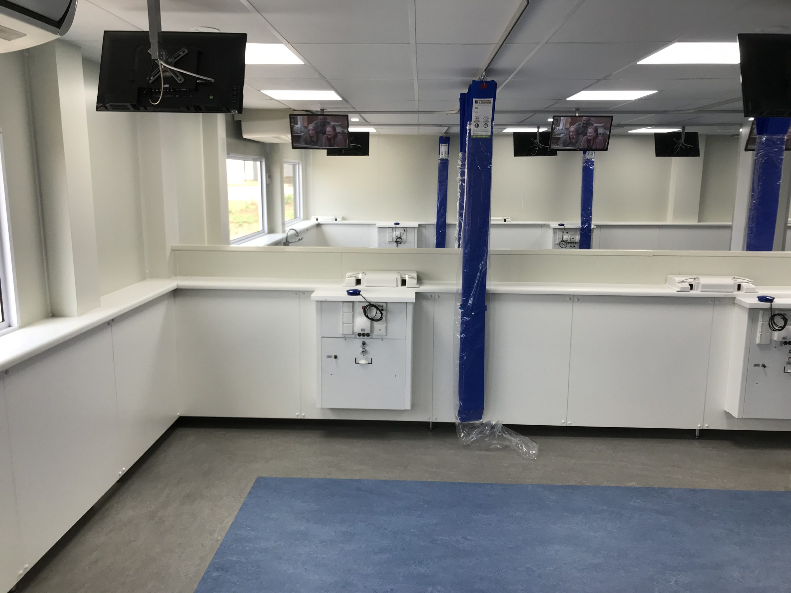 Isolation Rooms & Mobile Clinics