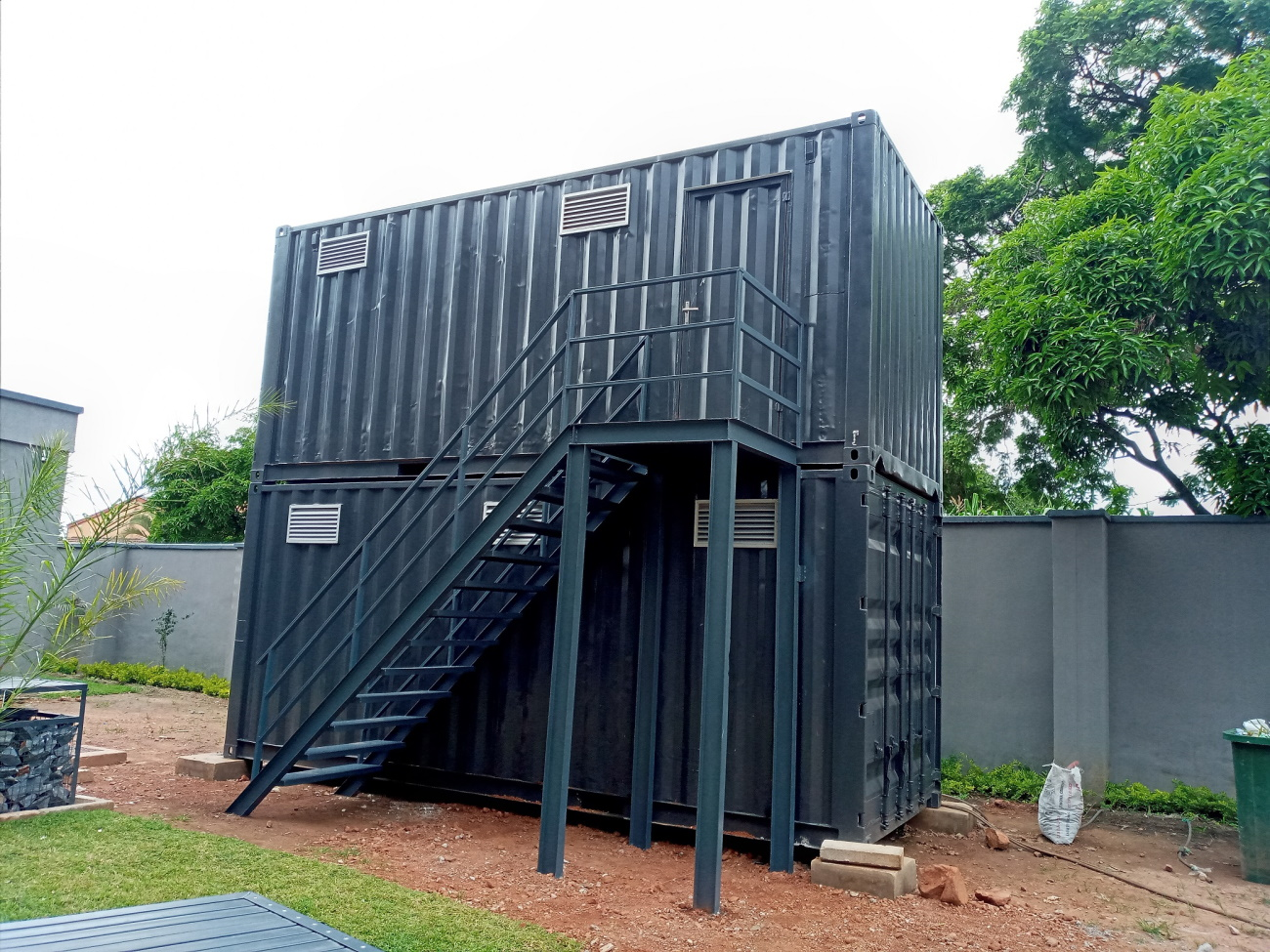 Double-storey Container Building