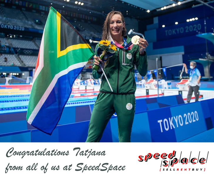 Congratulations to Tatjana Schoenmaker